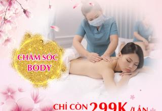 Massage body – liệu pháp chăm sóc sức khỏe được yêu thích nhất